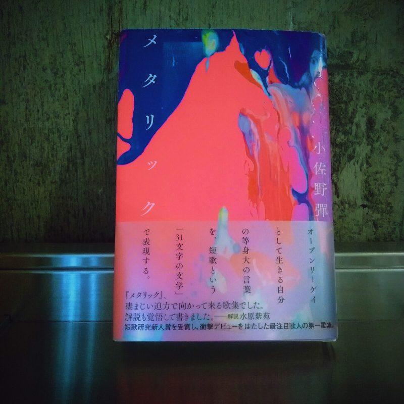 小佐野彈『メタリック』(短歌研究社)