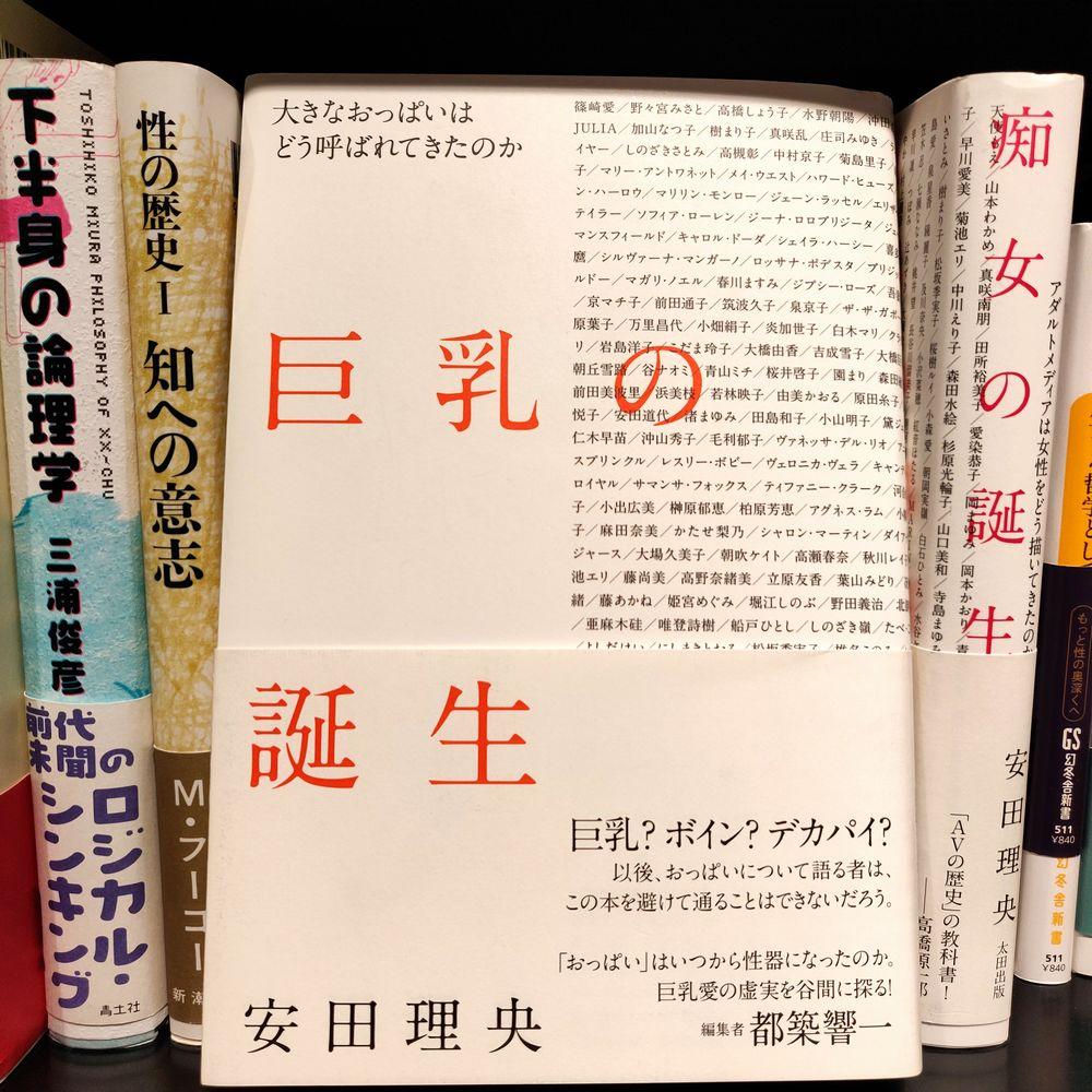 安田理央『巨乳の誕生』(太田出版)