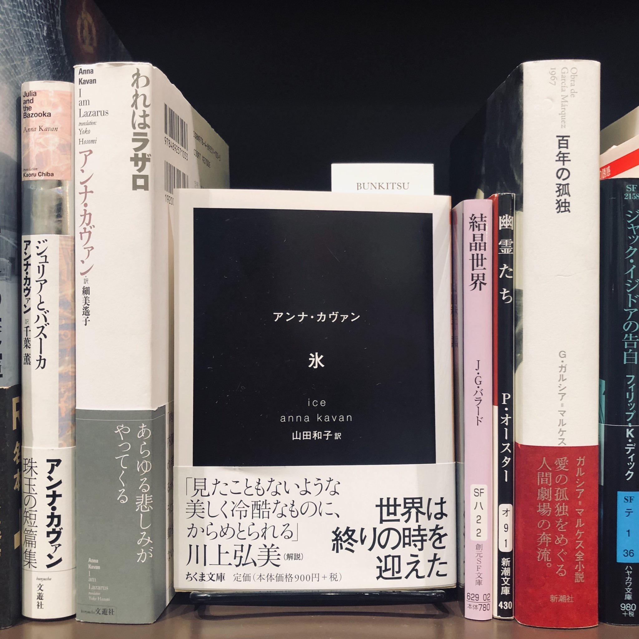 アンナ・カヴァン『氷』(ちくま文庫)