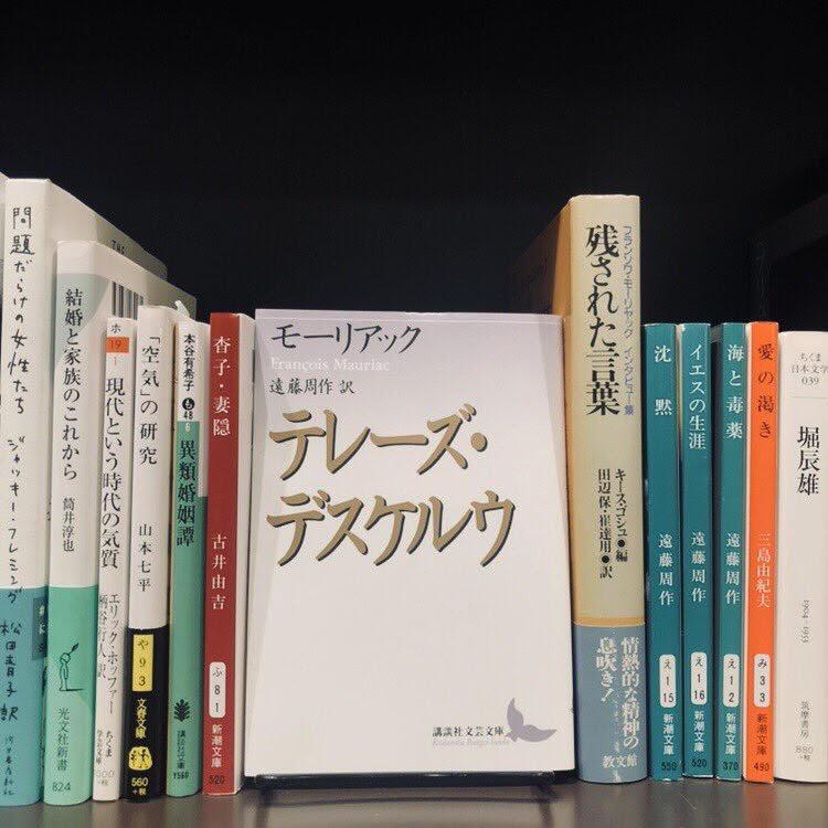 モーリアック『テレーズ・デスケルウ』(講談社)
