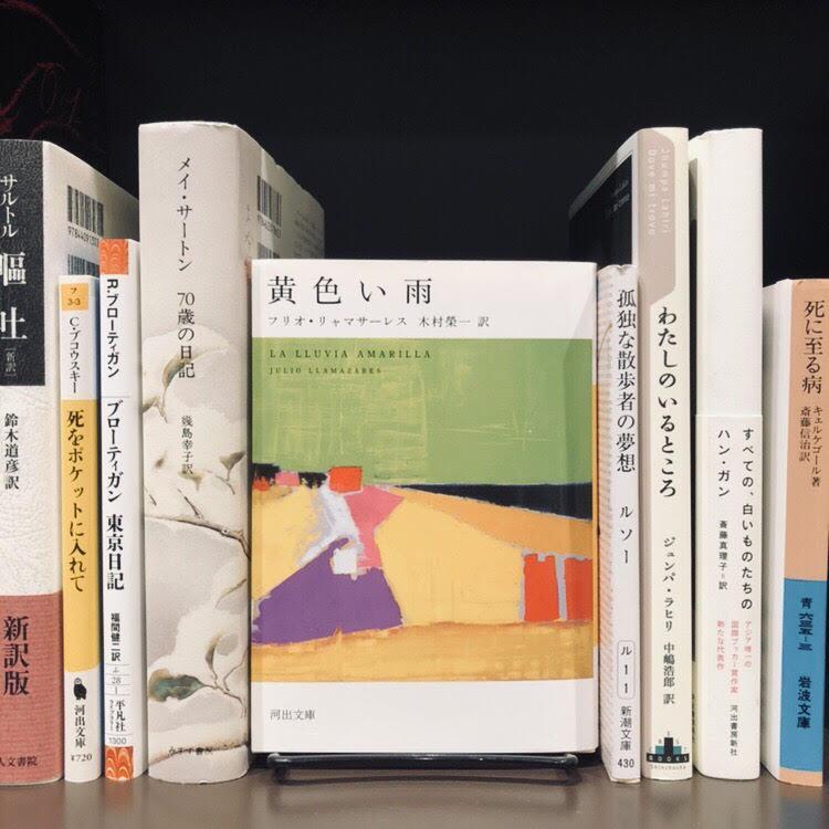 J.リャマサーレス『黄色い雨』(河出文庫)