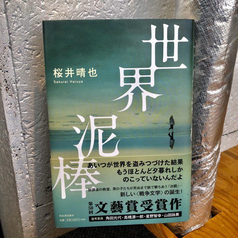 桜井晴也『世界泥棒』(河出書房新社)